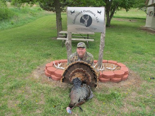 Turkey Hunting Trophy Room Photo